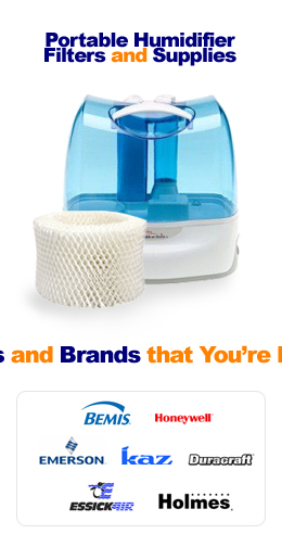 Portable Humidifier Filters and Supplies