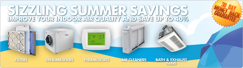 Summer Savings on Furnace Filters