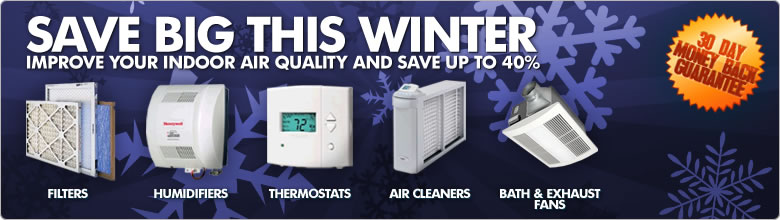 Winter Savings on Furnace Filters